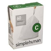 Simplehuman - Code C Custom Fit Liners 3 x 20pack