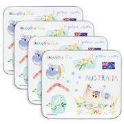 Ashdene - Australia Down Under Coaster Set 4pce