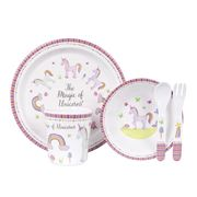 Ashdene - Unicorn Magic Kids Dinner Set 5pce