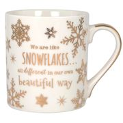 Ashdene - My Metallics Festive Snowflake Mug