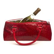 Primeware - Croc Wine Clutch Bag Red