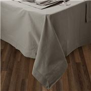 Rans - Hemstitch Tablecloth Grey 130x180cm