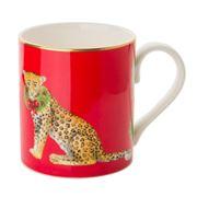 Halcyon Days - Festive Leopard Mug
