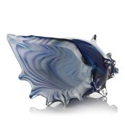 Zibo - Coloured Glass Shell Triton Blue
