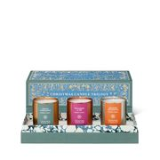 Crabtree & Evelyn - Christmas Mini Candle Trilogy 3x67g