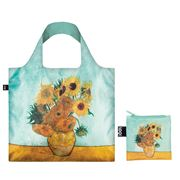 LOQI - Museum Collection Vase With Sunflowers Reusable Bag