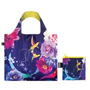 LOQI - Naito Collection Hummingbirds Reusable Bag