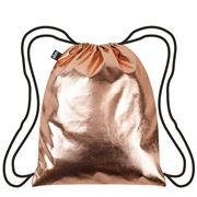 LOQI - Metallic Collection Rose Gold Backpack
