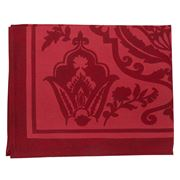 Beauville - St Tropez Satin Red Placemat 38x48cm