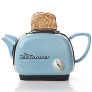 The Teapottery - Toaster Blue Teapot