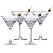 S & P - Winston Martini Glass Set 4pce