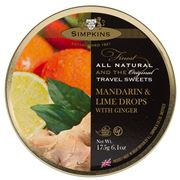 Simpkins - Mandarin & Lime With Ginger 200g