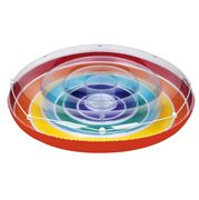 SunnyLife - Rainbow Luxe Twin Round Float