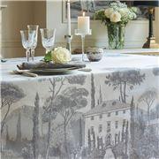 Garnier-Thiebaut - Palazzina Tablecloth Fusain 174x364cm