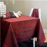Garnier-Thiebaut - Paysage Tablecloth Scarlet 175x255cm