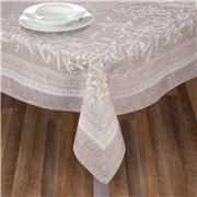 Garnier-Thiebaut - Persephone Uni Etain Tablecloth 175x305cm