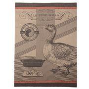Garnier-Thiebaut - Foie Gras Lisere Rouge Tea Towel