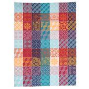 Garnier-Thiebaut - Mille Tiles Tor Tea Towel Multi 56x77cm