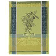 Garnier-Thiebaut - Olivier Tea Towel Vert Brumeux 56x77cm
