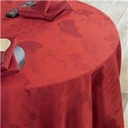 Garnier-Thiebaut - Mille Feuilles Tablecloth Rouge 175x250cm