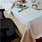 Garnier-Thiebaut - Imperatrice Tablecloth Gold 172x362cm