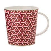Dunoon - Lomond Samarkand Burgundy Mug
