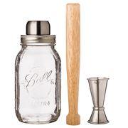 W&P Design - Mason Shaker Barware Set