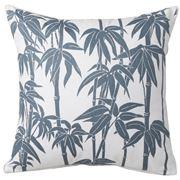 Florence Broadhurst - Bamboo Blue Square Cushion