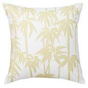 Florence Broadhurst - Bamboo Yellow Square Cushion