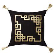 Logan & Mason - Kowloon Gold Square Cushion