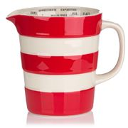 Cornishware - Red Graduated Jug 560ml