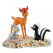 Disney - Pretty Flower Bambi Figurine