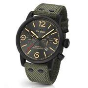 TW Steel - Maverick MS124 Black/Army Green Chronograph 48mm