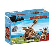 Playmobil - How to Train Your Dragon Grobber with Catapult