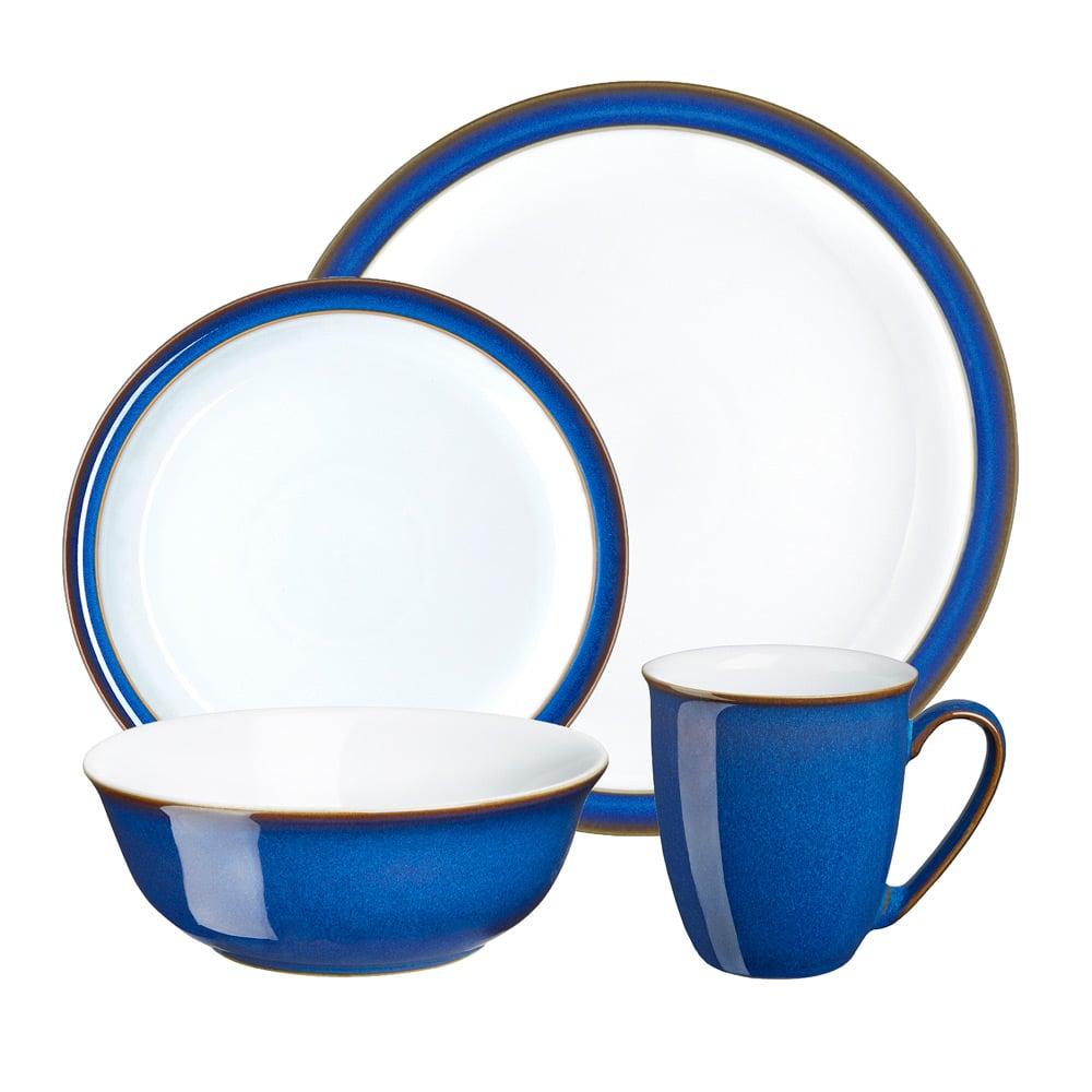 sc 1 st  Peter\u0027s of Kensington & Denby - Imperial Blue Tableware Set 16pce | Peter\u0027s of Kensington
