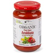 Chef's Choice - Organic Pasta Sauce Arrabbiata 350g