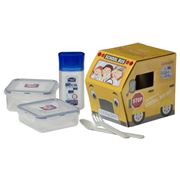 Lock & Lock - School Bus Lunch Set
