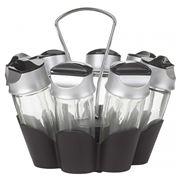 Trudeau - Eight Bottle Spice Carousel Set 9pce