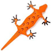 Vacavaliente - Recycled Lizard Leather Desk Accessory Orange