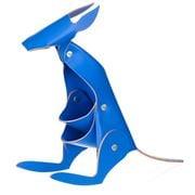 Vacavaliente - Recycled Leather Desk Acc. Kangaroo Blue