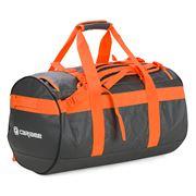 Caribee - Kokoda Duffle Bag Charcoal/Orange 70cm