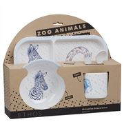 Ethos - Zoo Animals Dinner Set 5pce