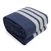 Lexington - Lexington Bed Blanket Blue 260x220cm