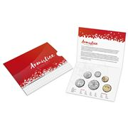 RA Mint - Armistice 100 Years On Uncirculated Coin Set 6pce
