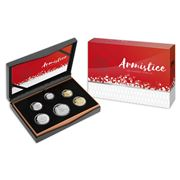 RA Mint - Armistice 100 Years On Proof Coin Set 6pce