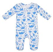 Marquise - Footed Zipsuit Animal Size 000