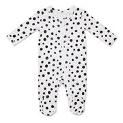 Marquise - Footed Zipsuit Spots Size 000