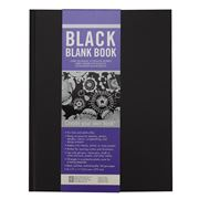 Peter Pauper Press - Studio Blank Book in Black