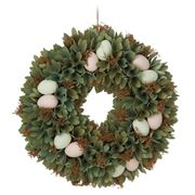Rogue - Egg Decorative Wreath Green