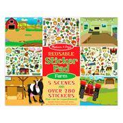 Melissa & Doug - Reusable Sticker Pad Farm
